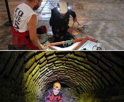 Ayasofya'nın yeraltı yapıları, üç boyutlu olarak tarandı