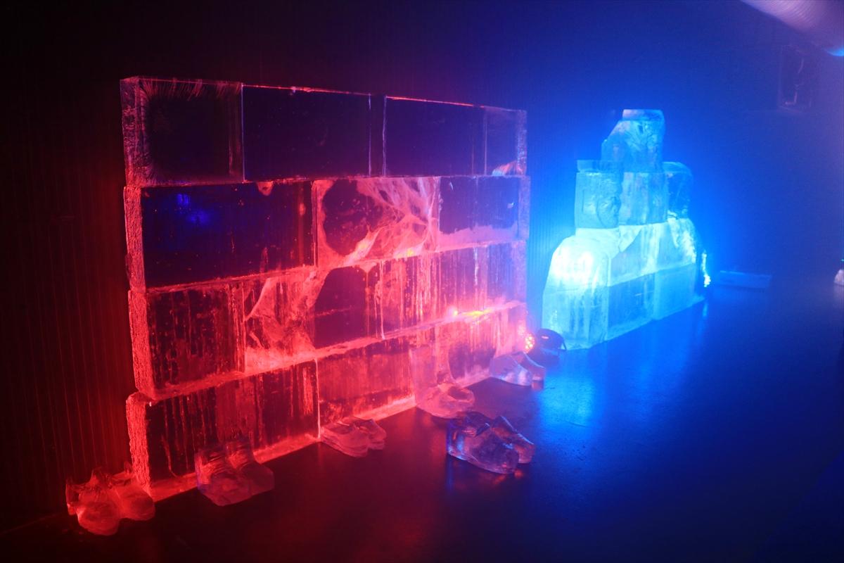 Erzurum'da Türkiye'nin ilk buz müzesi açıldı #7