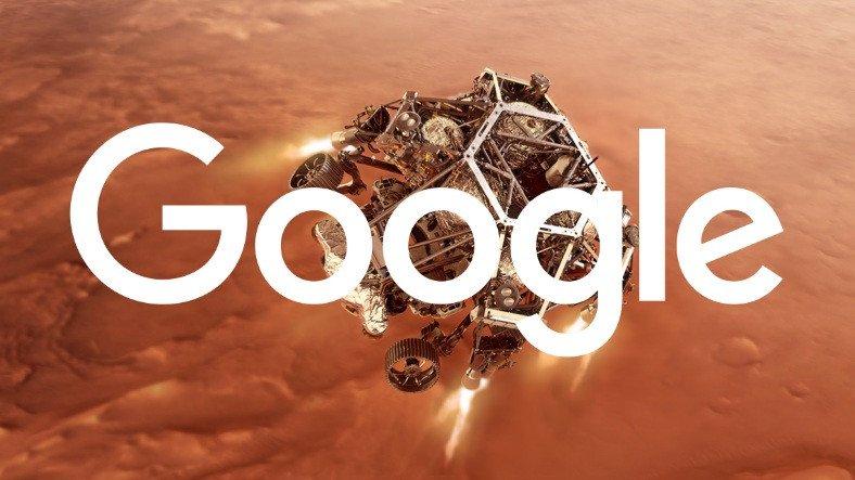 Google, Perseverance'ın Mars'a İnişini Tatlı Bir Sürprizle Kutluyor