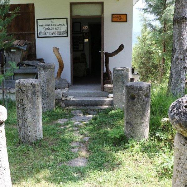 Karabük'te çevreden topladığı kalıntılarla müze açtı #1