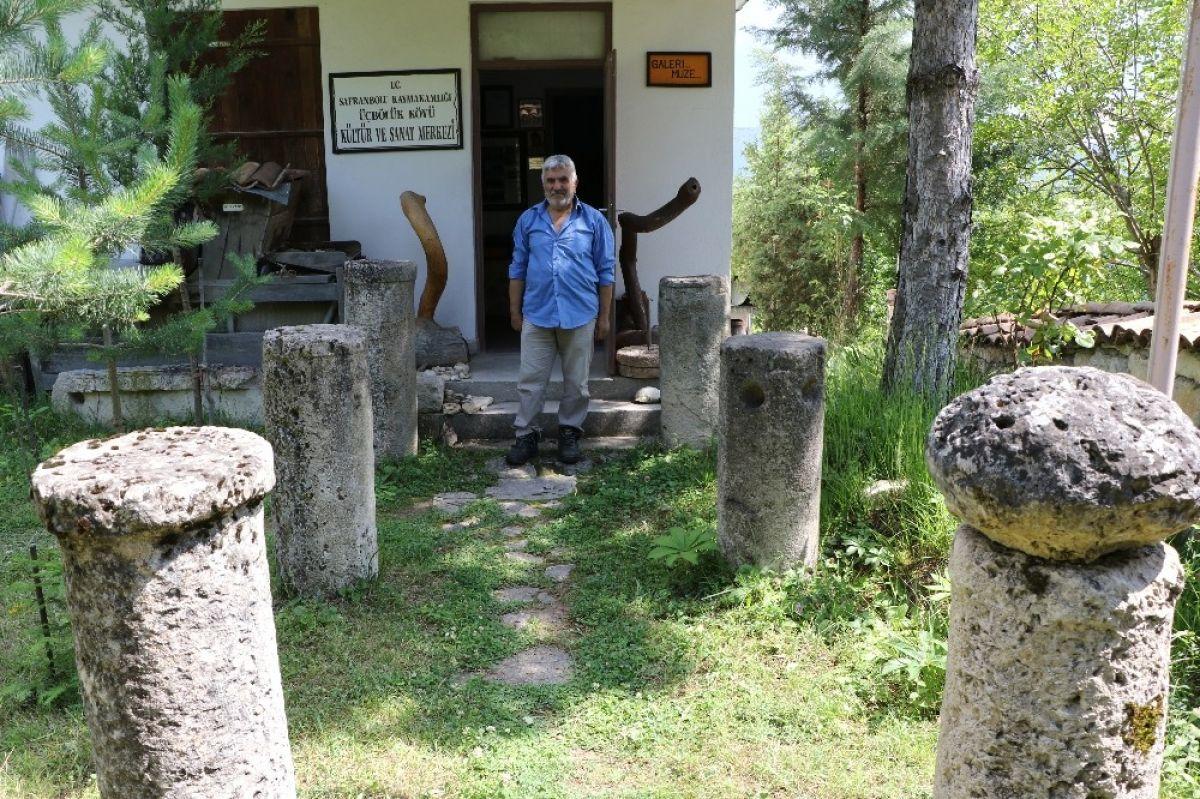 Karabük'te çevreden topladığı kalıntılarla müze açtı #2