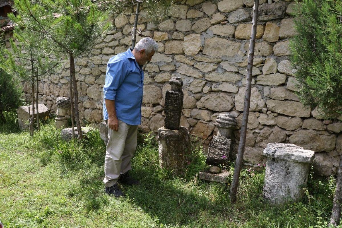 Karabük'te çevreden topladığı kalıntılarla müze açtı #3