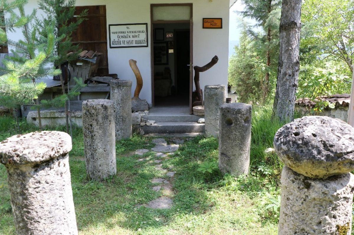 Karabük'te çevreden topladığı kalıntılarla müze açtı #4