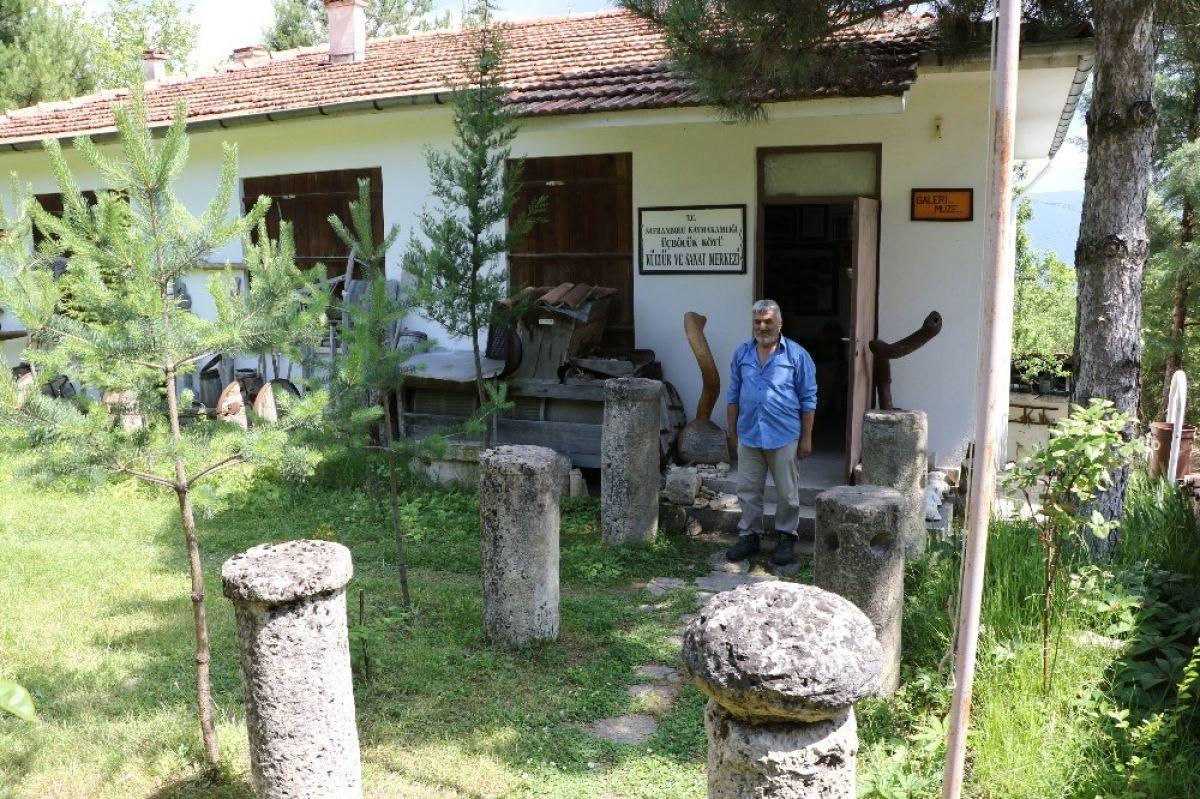 Karabük'te çevreden topladığı kalıntılarla müze açtı #6