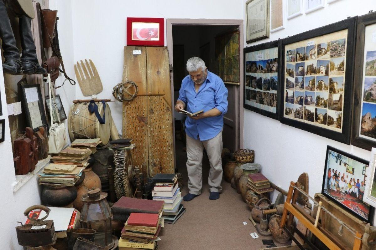 Karabük'te çevreden topladığı kalıntılarla müze açtı #7