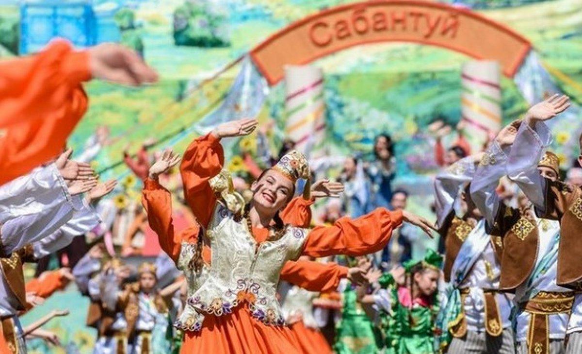 Rusya'da Sabantuy Bayramı sanal ortamda kutlandı #3
