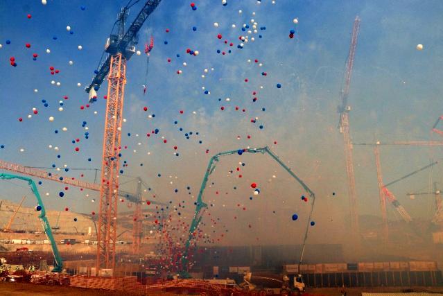 Son Dakika | Akkuyu NGS'nin 3. reaktörünün temeli atıldı