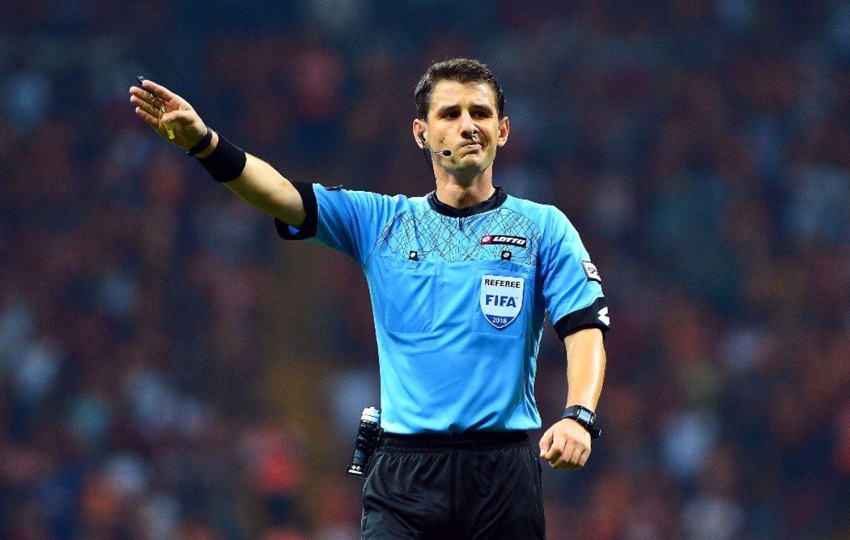 UEFA dan Cüneyt Çakır ve Halil Umut Meler e görev #2